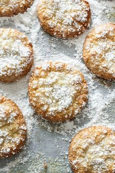 Chewy Almond Cookies: gluten-free, low-fat, no butter, no flour, no egg yolks, but super delicious :)