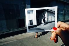 Guy Bourdin for Charles Jourdan // trompe l'oeil? run lola run! //
