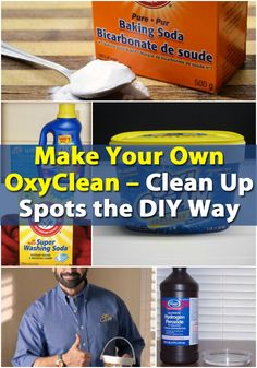 1000 Images About Cleaning Recipes On Pinterest
