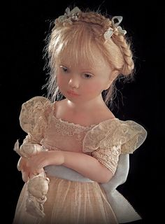 doll by French artist Joelle Lemasson (Helosie) ... copied from a book of mine