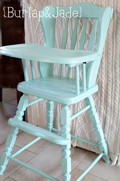 vintage high chair/ just like the one I got!!