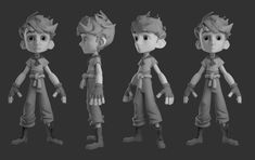 ArtStation - The Wingfeather Saga - Characters , Rotem Talker