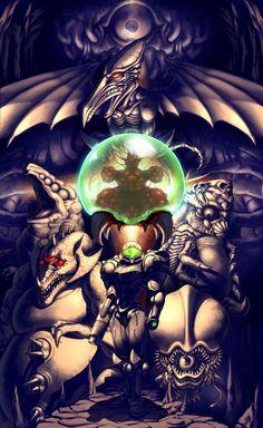 Super Metroid: Entrada para Tourain