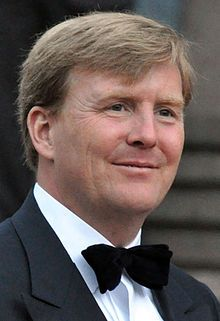 Willem-Alexander  born 27 April 1967) is the King of the Kingdom of the Netherlands, consisting of the countries of the Netherlands (including the Caribbean Netherlands), Curaçao, Aruba, and Sint Maarten. He is head of the Dutch royal house and the House of Amsberg. Willem-Alexander was born in Utrecht and is the eldest child of Princess Beatrix and German diplomat Claus von Amsberg.