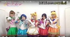 Sailor Moon musical to be released on DVD next month footage available onlineVideo