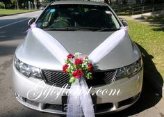 Image result for wedding car decoration photos