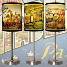 Fab.com | Vintage-Inspired Table Lights