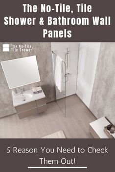 The No-Tile, Tile Shower & Bathroom Wall Panels - 5 Reasons You Need To Check .