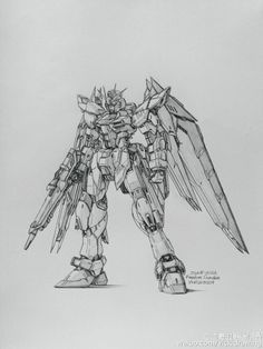 GUNDAM GUY: Awesome Gundam Sketches by VickiDrawing [Updated 1/24/2016]