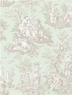 WA7834 - Wallpaper | Waverly Classics | AmericanBlinds.com