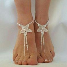 New designs , sea star , barefootsandal