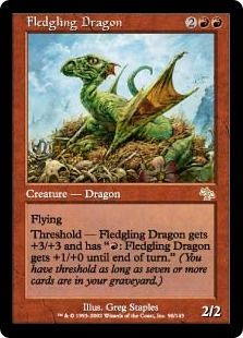 Mtg Fledgling Dragon