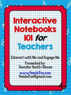 CAMT 2013: Interact With Me and Engage Me - all about Interactive Notebooks