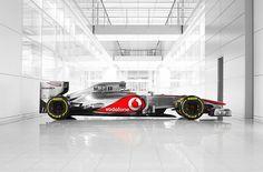 McLaren Mercedes F1 2012