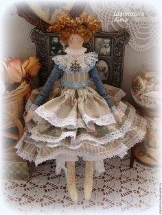 """Купить """"Принцесса моря """" - кукла ручной работы, кукла в подарок, кукла Тильда"""