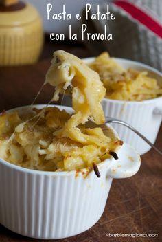 Pasta e patate con la provola - original neapolitan recipe