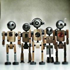 Woodbot invasion:)