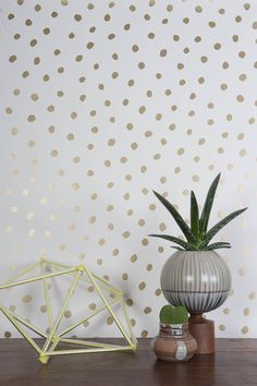 Sisters of the Sun Wallpaper in Gold and Cream design by Juju Cream Wallpaper, Wallpaper Roll, Bathroom Wallpaper, Burke Decor, Wallpaper Samples, Decoration Table, Interior Walls, Home Office, Decorative Pillows