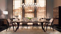 Beautiful Dining Rooms from @Fendicasa #Fendi #diningroom www.kasiasworldofrealestate.com