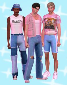 Sims Four, Sims 4 Mm, My Sims, Sims 4 Male Clothes, Sims 4 Cc Kids Clothing, Sims 4 Cas Mods, Sims 4 Tattoos, Pelo Sims, Sims 4 Collections