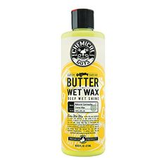 Chemical Guys WAC_201_16 Butter Wet Wax (16 oz)  100 percent carnauba-based wax  New formulation for even easier application  Deep wet look to any paintwork  Improved level of protection.Date on item is manufactured date.  More UVA and UVB protection  Improved level of protection.Date on product is manufacturing date.