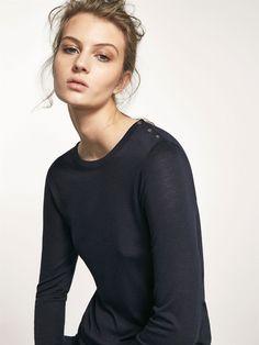 Μπλουζάκια με μακρύ μανίκι - Μπλουζάκια - ΓΥΝΑΊΚΑ - Massimo Dutti