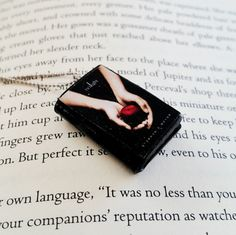 Twilight Saga Handmade Mini Book Necklace Clay Charms Pendant -Miniature Books - Book Gifts - Book Jewelry - Book Lover Gifts by PinkBlueArtUK on Etsy