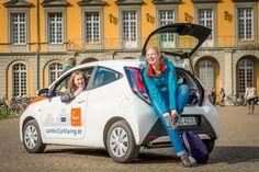 BONN: Die Universität Bonn kooperiert mit cambio CarSharing - 3 neue Stationen eröffnet.