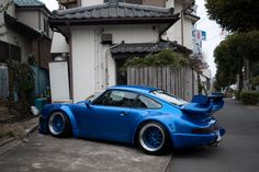 Porsche - love the blue