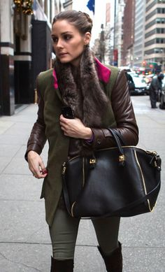 I'm ready to confess my obsession with this ladies style - Olivia Palermo ❤