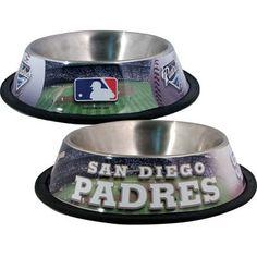 San Diego PADRES  MLB 32 oz. Water Bowl