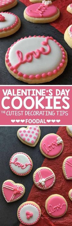 Heart-Themed Cookies Valentine\'s Day | The Crafting Foodie ...