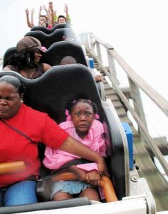 roller coaster pictures: the first two are a little inappropriate, skip those