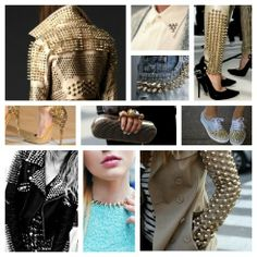 Cannot get enough of all of the studded fashion!