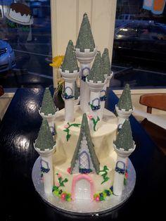 Princess Castle Cake (wilton)