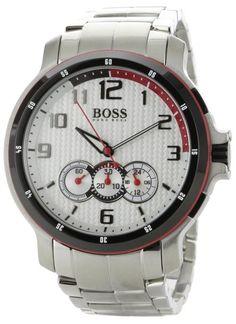 Hugo Boss 1512367 Black HB230 Chronograph Men's Watch on sale at WatchWarehouse.com