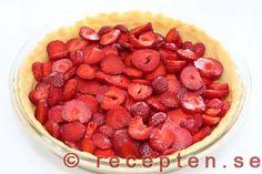 instruktion steg 3 krämig jordgubbspaj