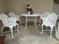 useful metal garden furniture pinteres