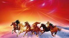 10 Best Feng Shui Horses Seven Horses Images Feng Shui Horse