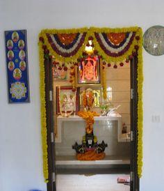 Pooja Room Designs for Gudi Padwa