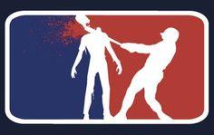 'Major League Zombie ' Sticker by Ryan Pedersen Zombie Life, Zombie Zombie, Weird Stuff On Amazon, Funny Stuff, Best Zombie, Zombie Hunter, Zombie Attack, Zombieland, Favim