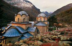 The monastery of Pecka Patrijarsija, Serbia