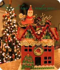 2nd Christmas Village House