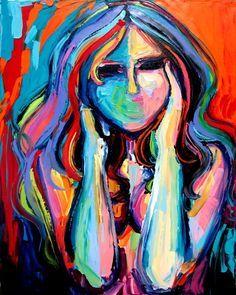 תוצאת תמונה עבור acrylic painting of nude woman back