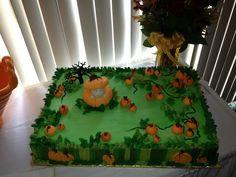 Fall baby shower cake