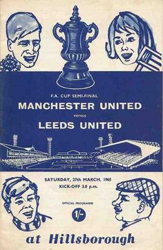 Man Utd 0 Leeds Utd March The ' War of the Roses ' FA Cup Semi-Final at Hillsborough ended goaless. Leeds United Team, Manchester United Images, Manchester United Football, Retro Football, World Football, The Damned United, Association Football, Most Popular Sports, Team Pictures