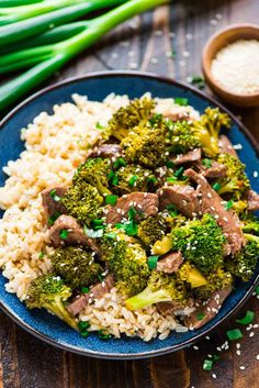 Slow Cooker Beef and Broccoli is an Asian dish that is super easy to make, and so much better tasting than take out. Everything cooks right in the crock pot, even the sauce. My family LOVES this easy beef and broccoli recipe!