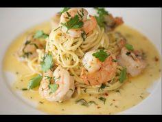 Shrimp Scampi & Linguine | Byron Talbott - YouTube