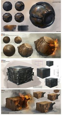 Step by Step Texture Drawing Lessons Digital Painting Tutorials, Digital Art Tutorial, Art Tutorials, Digital Paintings, Texture Drawing, Texture Art, Texture Painting, Concept Art Tutorial, Hand Painted Textures