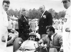 """My childhood hero Graham Hill with my mum. F1 was part of the story of """"Conspiracy of Secrets""""."""
